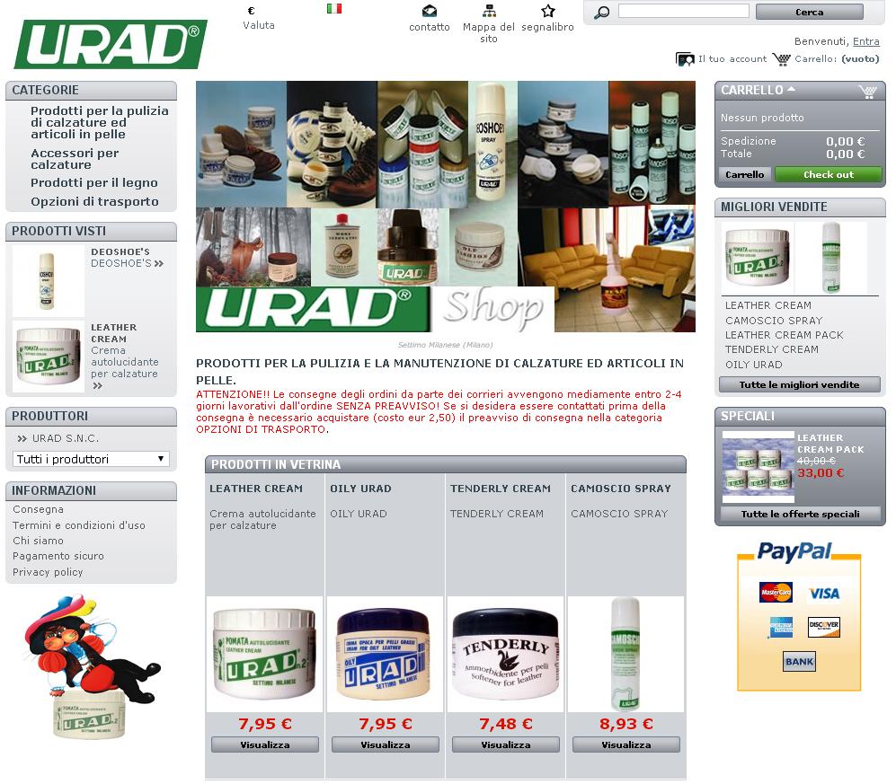 home page urad-eu