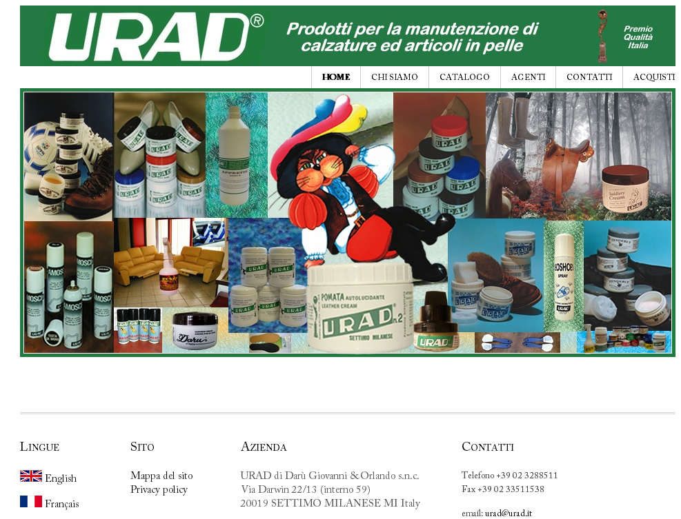 home page urad-it